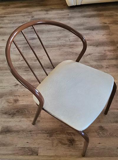 Вяжем подушки на стулья своими руками и спинку полу кресла для образца