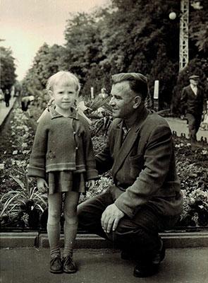Я и папа, город Одесса