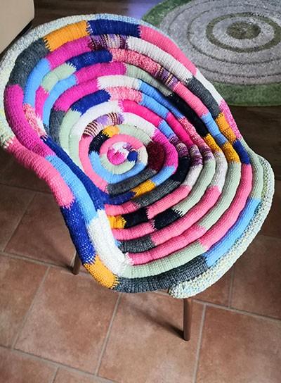 Новый вид полу кресла с подушкой на кресло
