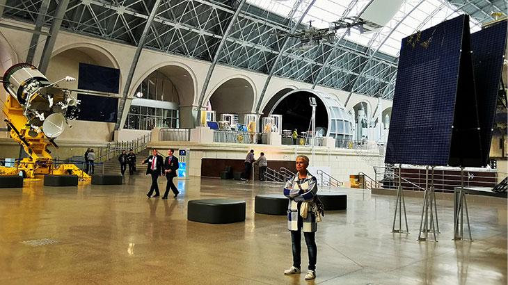 Музей космонавтики на ВДНХ. Все красиво и «вылизано»
