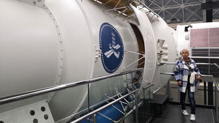 Международная космическая станция «Мир» — первая модульная орбитальная станция. Макет станции 1:1. Доступен осмотр внутри станции