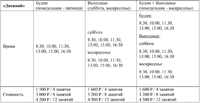 """Абонемент """"Строгий - Дневной"""" в плавательный бассейн СК «Легенда»"""
