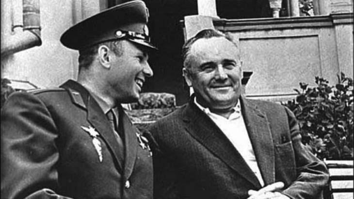 Королёв и Гагарин — две легенды нашей эпохи.