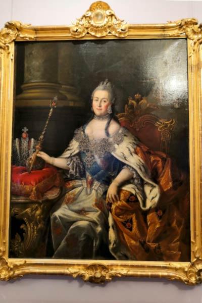 Картина Екатерина II. Императрица Всероссийская с 1762 по 1796 год.