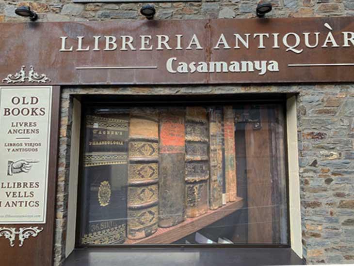 Андорра-ла-Велья. Дом, где живут старые книги