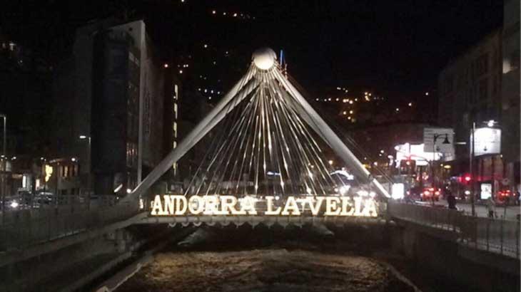 Вечерняя Андорра-ла-Велья